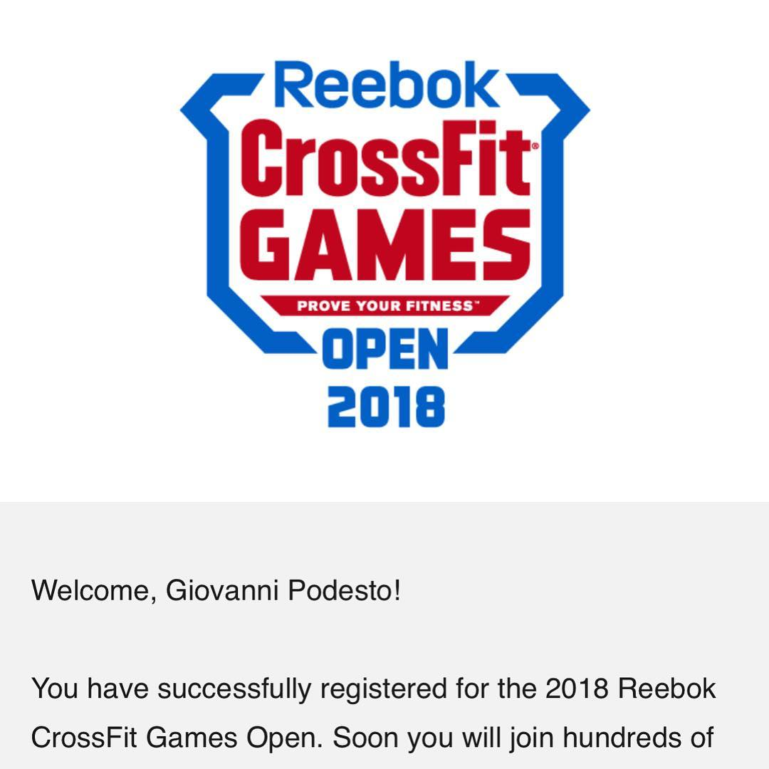 The Crossfit Open Is Just Around The Corner Register At Games