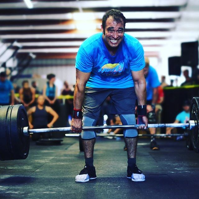 Some people whine, complain, or quit. Others deadlift