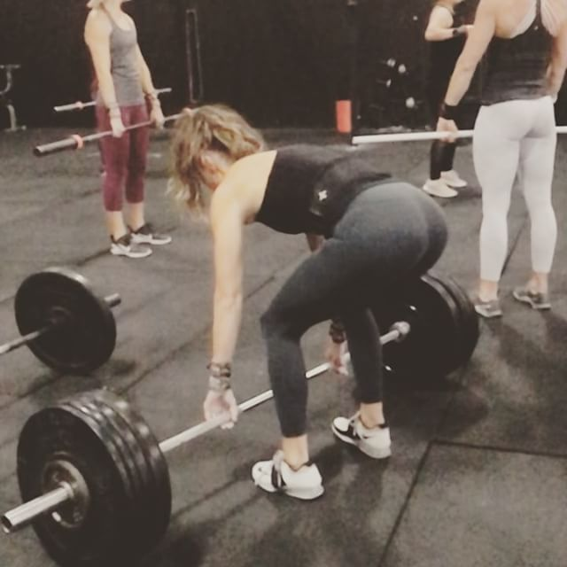 """Moving weight on a! 💥BENCHMARK DAY💥 Today we have a favorite. """"Grace"""" is 30 clean and jerks for time 135/95. Some would argue that 30 reps of an Olympic lift is unconventional (partially true), but we don't really care what they say"""