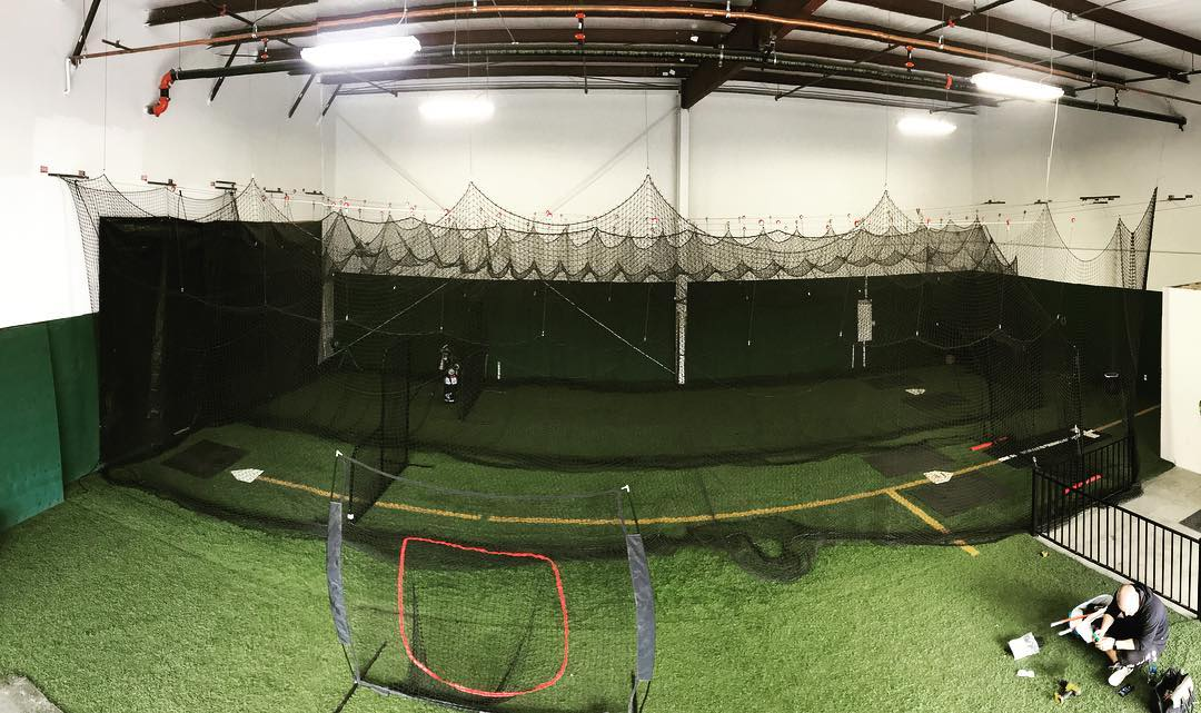 The expansion is coming along! We'll be adding space to our current facility, along with 2 cages for BP. If your kids play softball or baseball, let their coaches know we'll have cage rentals through the year as well as 2 hitting coaches who have availability to take on new clients&gworldwide