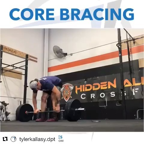 "@tylerkallasy.dpt ・・・ 🐡Brace Yourself 🛢 – Abdominal bracing (core bracing) is one of the most self-limiting factors in weight training. Appropriate timing and intensity can be tricky, especially if your body was never able to practice with lighter loads at lower thresholds of intensity. This gets even more complicated if you have developed pain associated with a position/movement. – There are a million and 1 techniques that clinicians and coaches use to ""teach"" abdominal bracing in isolation. The bottom line is that this 'skill' is inherently subconscious. – Eventually, there needs to be practice with carryover. The PENDLAY ROW is a great exercise for this. While the original intent was for strengthening the upper back, there is quite a bit of core bracing and lower back integrity needed to maintain appropriate posture and pressure while responding to the moving weight ….all the while breathing! – The PENDLAY ROW: keep it light, keep it under control, keep it pain free. Progress slowly. – If you're looking for guidance more specific to your own situation, contact me . Want to see more like this? Hit the ❤️ – A future you. A Better You"