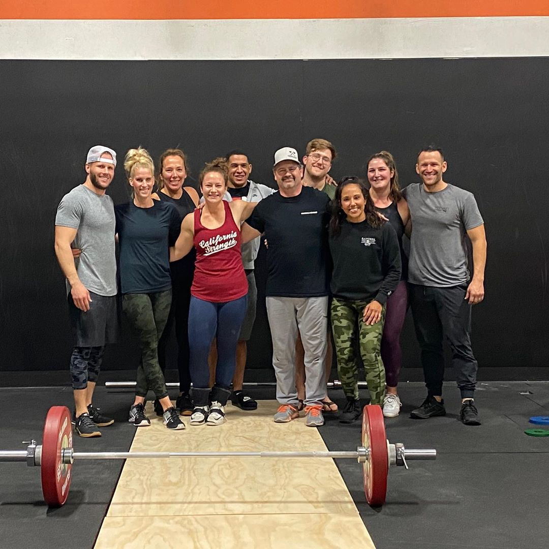 Awesome group today for our Mock weightlifting meet!! We had some great fights and big PR's!! Proud of everyone that made it out to lift, and pumped to have such a solid crew of friends @hidden_alley_crossfit