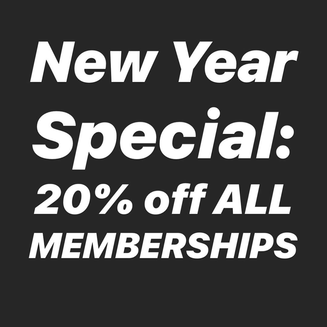 Don't miss the specials! There are 12 days left to take advantage of our BIGGEST membership sale of the year. This deal will not last, and we will not have prices this low, so dedicate yourself to a program that will go above and beyond to push you to the next level for a fraction of the cost of any other studio gym in the surrounding area #2020